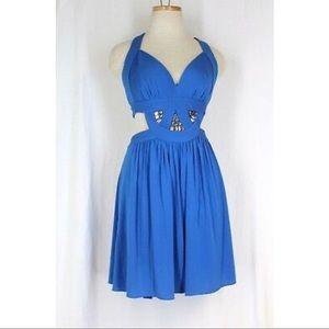 BCBG Larkspur Cutout Dress